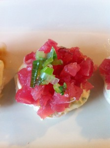 Broodje tonijntartaar